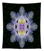 Baroque Fantasy Flowers Ornate Tapestry