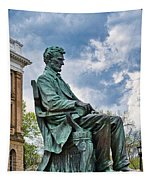 Bascom Hall Lincoln Statue Tapestry