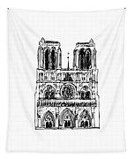 Basilica Notre Dame Tapestry
