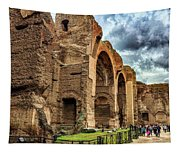 Baths Of Caracalla Tapestry