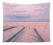 Beach Boardwalk Tapestry