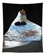 Beach Cave Tapestry