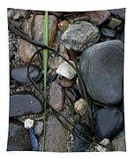 Beach Kanji Tapestry