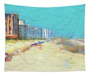 Beach Vacation Tapestry