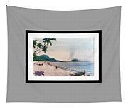 Beautiful Goa Beach Tapestry