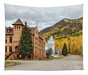 Beautiful Small Town Rico Colorado Tapestry