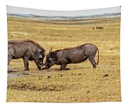 Beauty On The Hoof, The Warthog Tapestry