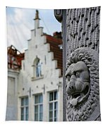 Belgian Coat Of Arms Tapestry by Nathan Bush
