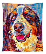 Bernese Mountain Dog Tapestry