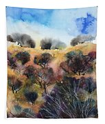 Beyond The Hills Tapestry