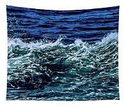 Big Surf Pano Tapestry