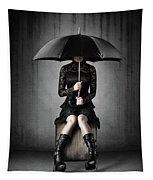 Black Rain Tapestry