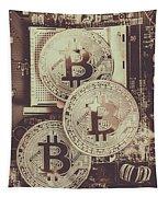 Blocks Of Bitcoin Tapestry