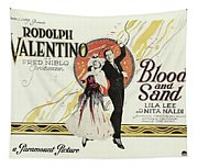 Blood And Sand, 1922 Tapestry