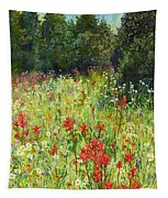 Blooming Field Tapestry