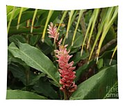 Blooming Plant Tapestry