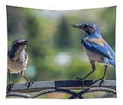 Blu And Blu2 Tapestry