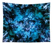 Blue Burst Tapestry