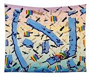 Blue Cauldron Tapestry