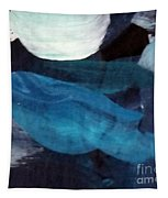 Blue Fish Tapestry by Maria Langgle