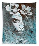 Blue Hypothermia Tapestry