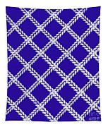Blue Knit Tapestry