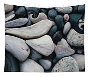 Blue Rock Garden Tapestry