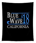 Blue Wave California Vote Democrat 2018 Tapestry