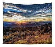 Blueridge Mountain Sunburst Tapestry