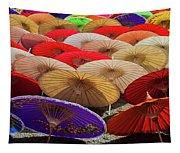Bo Sang Umbrellas, Thailand Tapestry