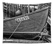 Boat At Fisherman's Cove Tapestry