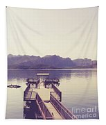 Boat Dock Tonto National Forest Tapestry