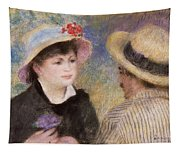 Boating Couple  Said To Be Aline Charigot And Renoir      Tapestry