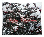 Happy Christmas 12 Tapestry