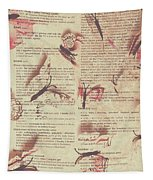 Book Bugs Tapestry