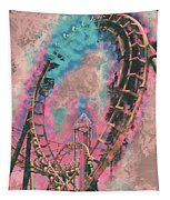 Boomerang Loop Candy Tapestry by Matthew Nelson