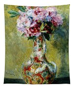 Bouquet In A Vase, 1878 Tapestry