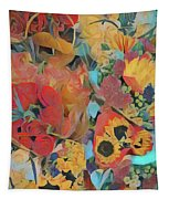 Bouquets Tapestry