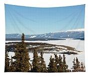 Bove Island On Windy Arm In Tagish Lake Yukon Tapestry
