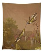 Brazilian Hummingbirds II Tapestry