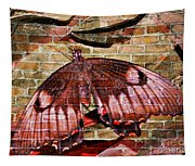 Brick In The Wall Tapestry