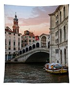 Bridges Of Venice - Rialto Tapestry