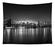 Bright Lights Of New York Tapestry