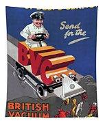 British Vacuum Cleaner Vintage Advert 1910 Tapestry