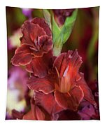 Brown Jewel 5. The Beauty Of Gladiolus Tapestry