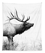 Bull Elk In Rut Tapestry by Perspective Imagery