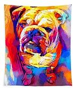 Bulldog 4 Tapestry