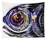 Business Casual Fish Tapestry