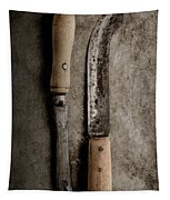 Butcher Knives Tapestry