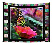 Butterflies Are Free Tapestry